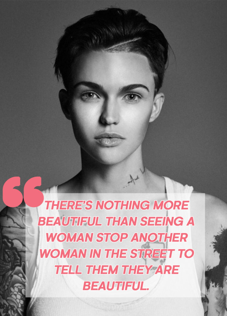 ruby rose lesbian quote