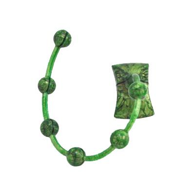 gemstone anal beads